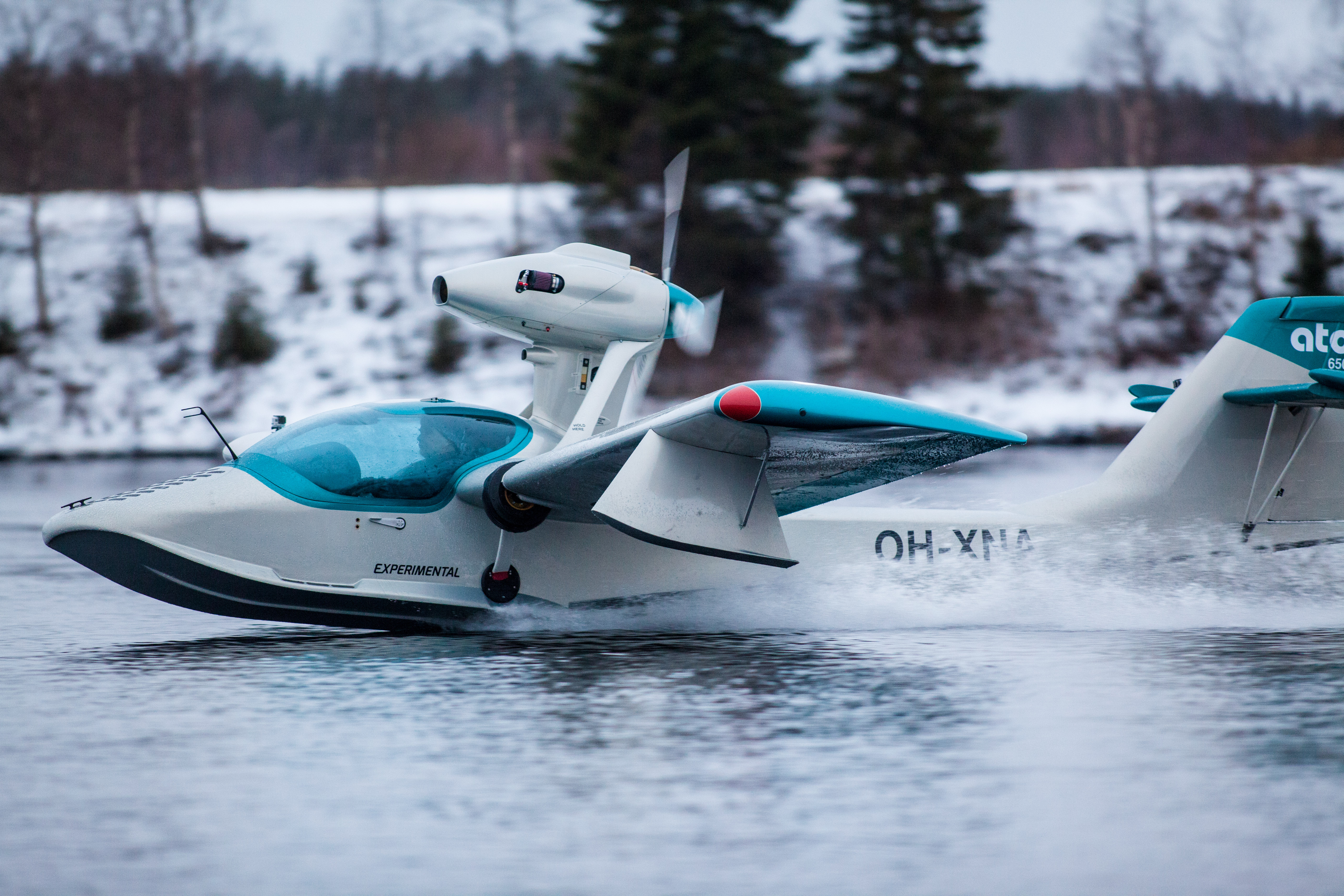 The Atol 650, a new high-performance amphibious aircraft with folding wings, will be produced for the U.S. market at Brunswick Landing, according to a release from Atol USA Inc. (Courtesy: Atol)