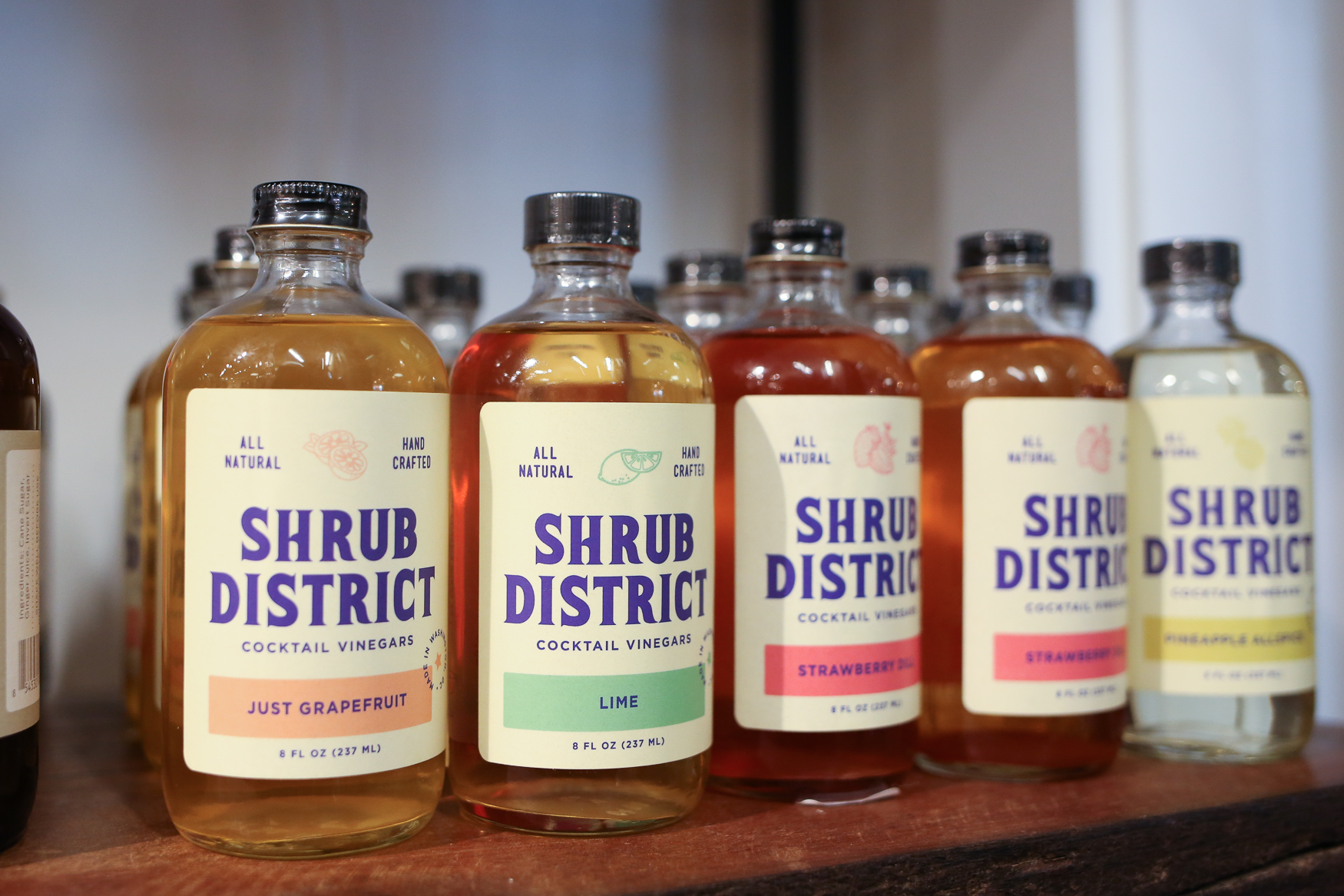 Where: Salt &Sundry<br><p>What: Some locally made shrubs<br>The giftee: The blooming foodie in your life, who's learning that's there's more to a cocktail than two ingredients.<br>Cost: $10<br>(Amanda Andrade-Rhoades/DC Refined)</p>