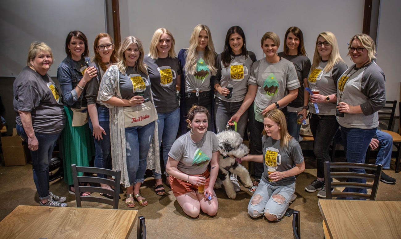 The Greenline Salon team{ }/ Image: Katie Robinson, Cincinnati Refined // Published: 4.19.19
