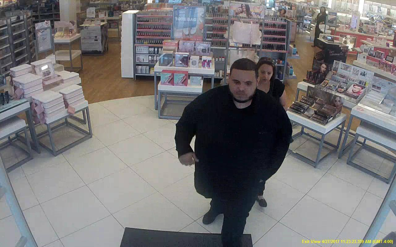 The Midland Police need your help in identifying two individuals who they say are involved in a retail fraud case. (Photo Courtesy:  Midland Police Department)