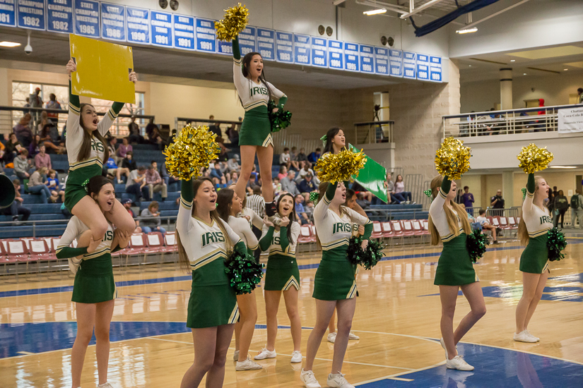 Notre Dame won over Darlington, 41 - 40. Photo By Nathan P. Gayle