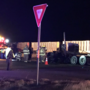 Semi-truck catches fire on US 287 near Washburn