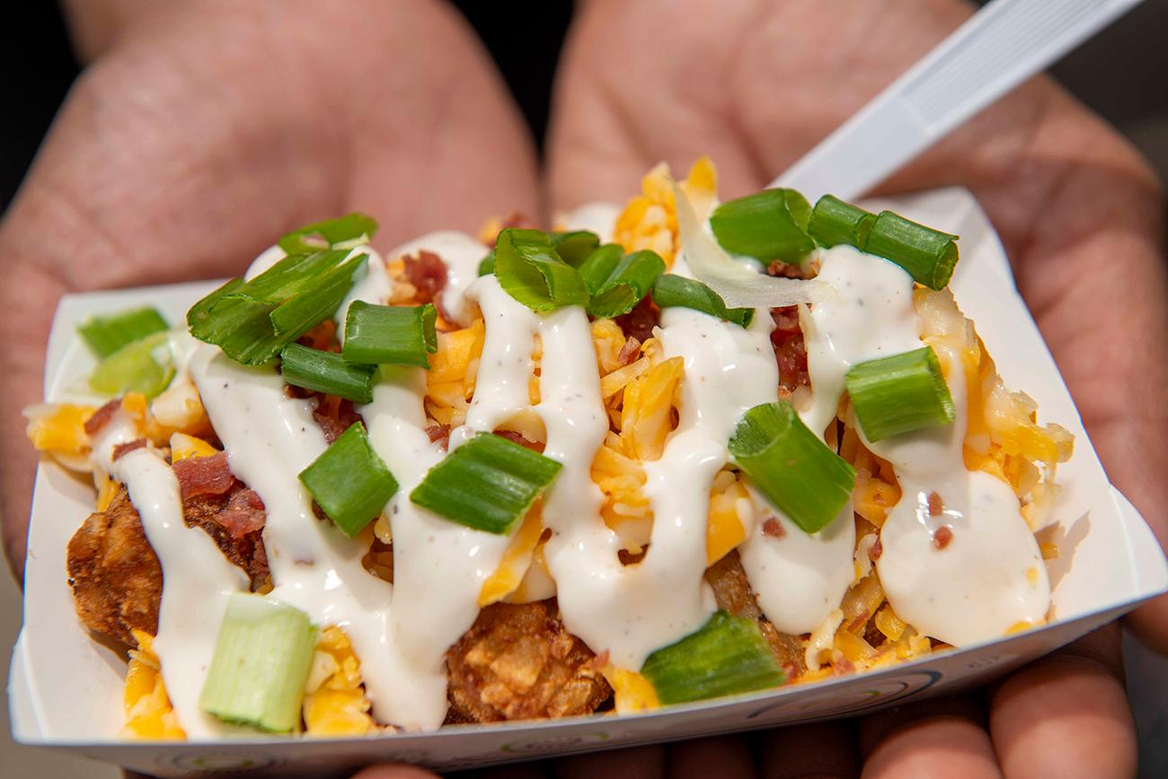The Totchos from Fire on High food truck / Image: Joe Simon // Published: 5.26.19
