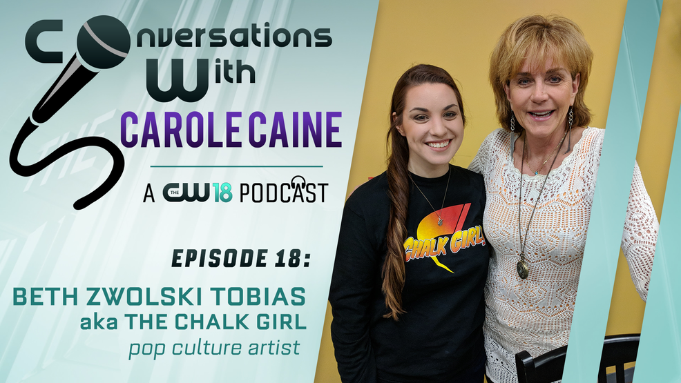 Conversations With Carole Caine| Episode 18: the Chalk Girl