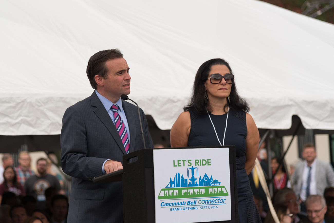 John & Dena Cranley, Mayor and First Lady of Cincinnati / Image: Phil Armstrong, Cincinnati Refined