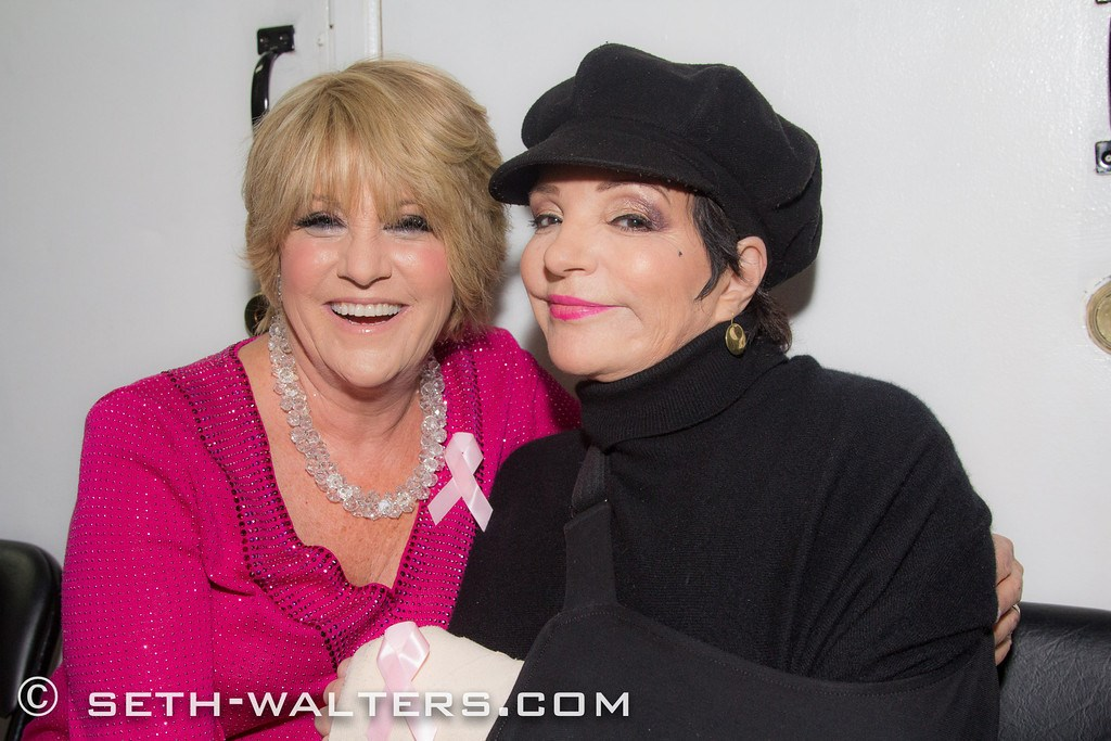 Luft says she's still tight her her big sister, Liza, but they don't spend much time living in the past. (Image: Lorna Luft)<p></p>