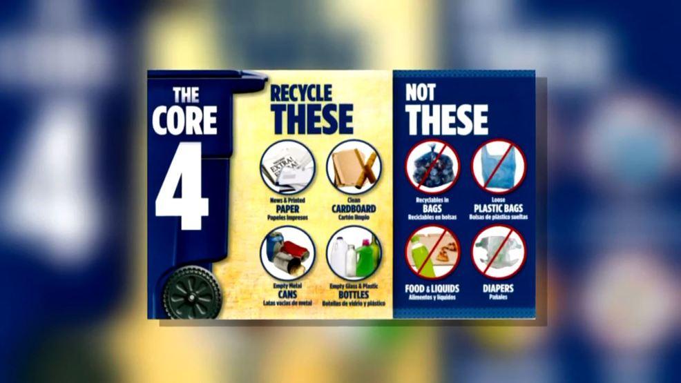 City Launches Core 4 Recycling Campaign Woai