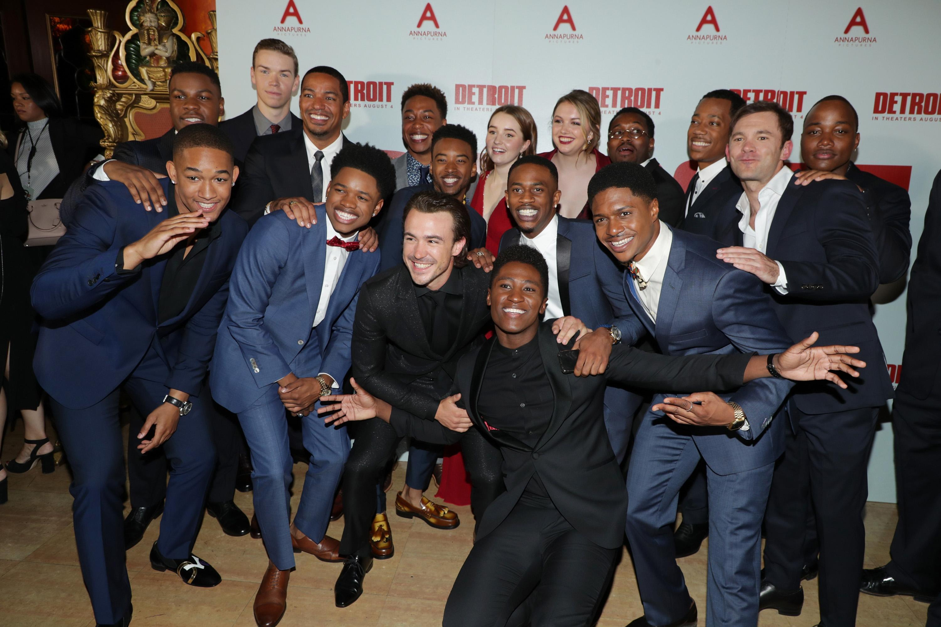 John Boyega, Peyton 'Alex' Smith, Will Poulter, Laz Alonso, Nathan Davis Jr., Algee Smith, Jacob Latimore,  Ben O'Toole, Joseph David-Jones, Kaitlyn Dever, Malcolm David Kelley, Hannah Murray, Ephraim Sykes, Tyler James Williams, Austin Hebert, Leon Thomas III