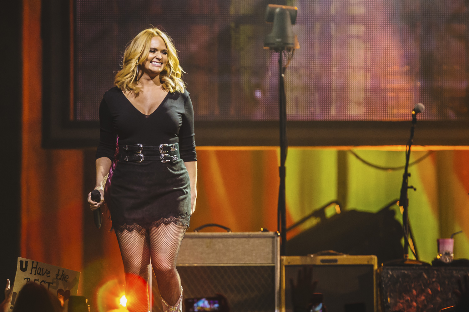 The Livin' Like Hippies Tour swung by Tacoma last night (February 1, 2018) as one of the Queens of Country herself, Ms. Miranda Lambert, left it all on the floor at the Dome. The stop was Lambert's first on the tour; she'll go on to play 20 other shows throughout the country, ending in March 2018. (Image: Sunita Martini / Seattle Refined)
