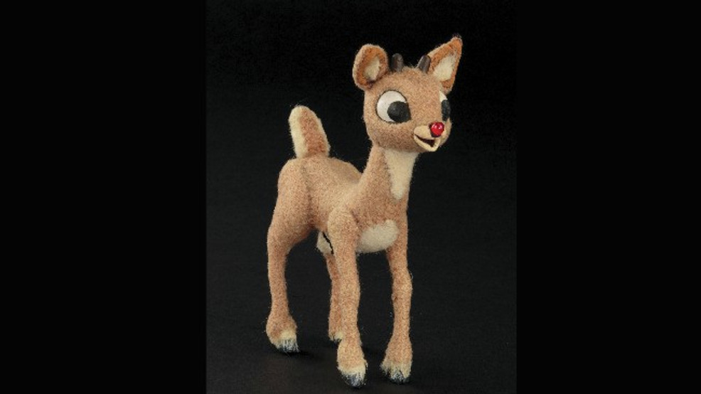 Rudolph and his nose-so-bright into auction will take flight