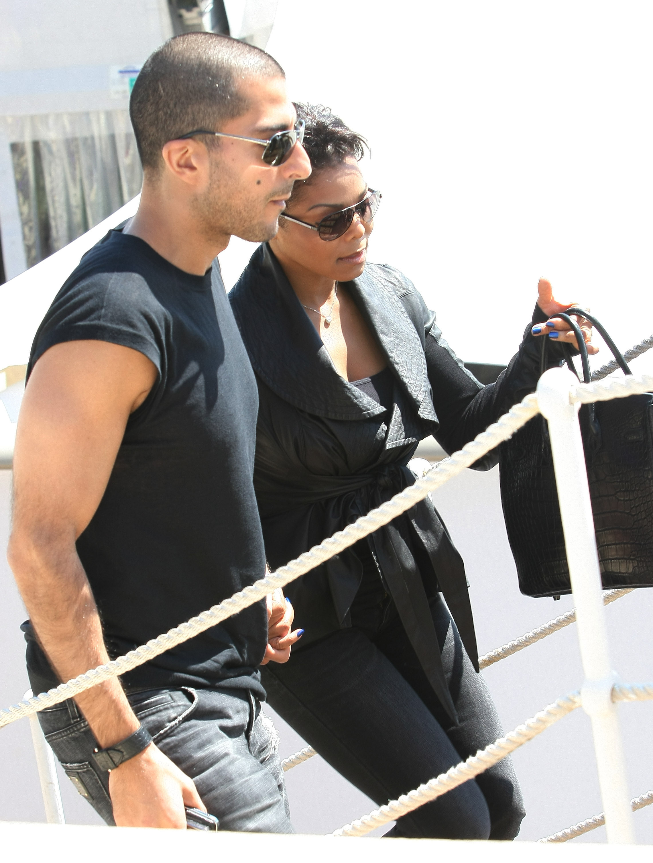 Janet Jackson and boyfriend Wissam Al Mana                  out and about during the 2011 Cannes International Film Festival - Day 10                                    Featuring: Janet Jackson and boyfriend Wissam Al Mana                  Where: Cannes, France                  When: 20 May 2011                  Credit: WENN