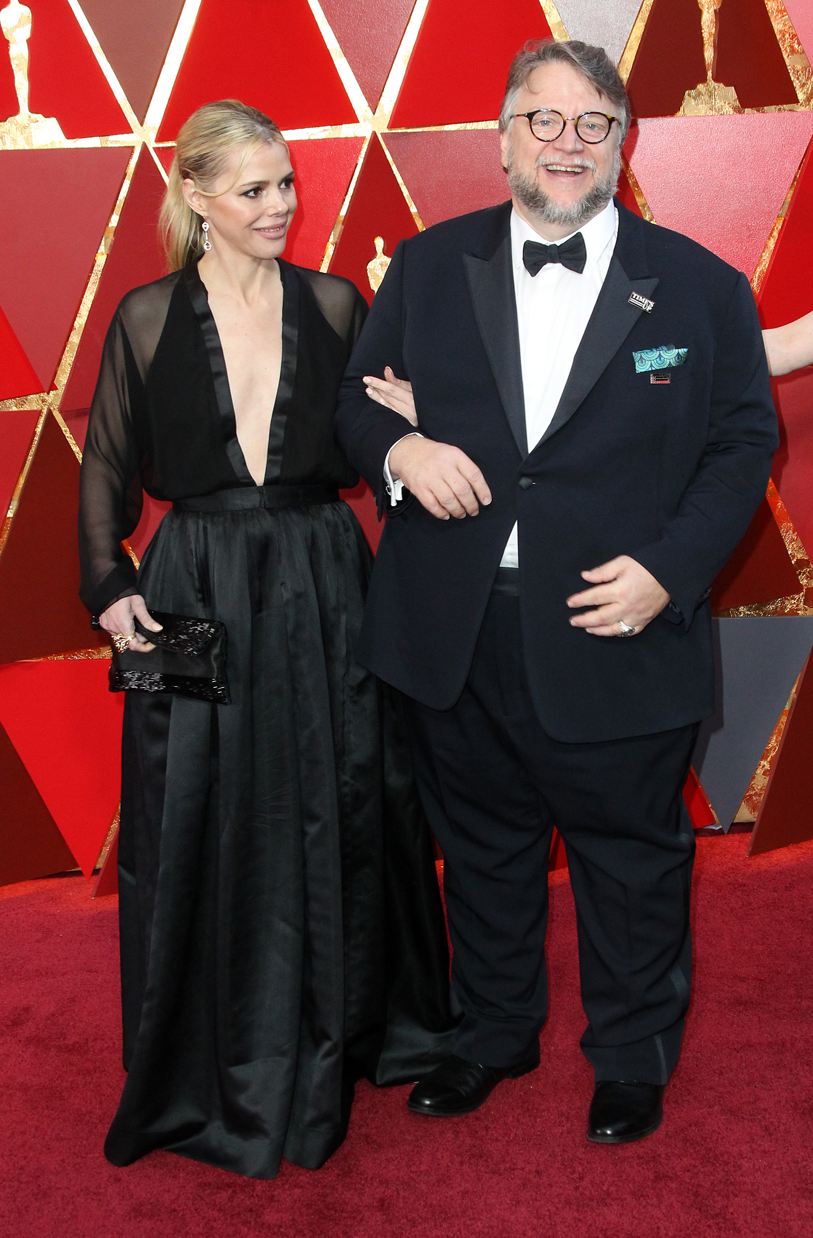 {&amp;nbsp;}Kim Morgan and{&amp;nbsp;}Guillermo del Toro arrive at the 90th Annual Academy Awards (Oscars) held at the Dolby Theater in Hollywood, California. (Image: Adriana M. Barraza/WENN.com)<p></p>