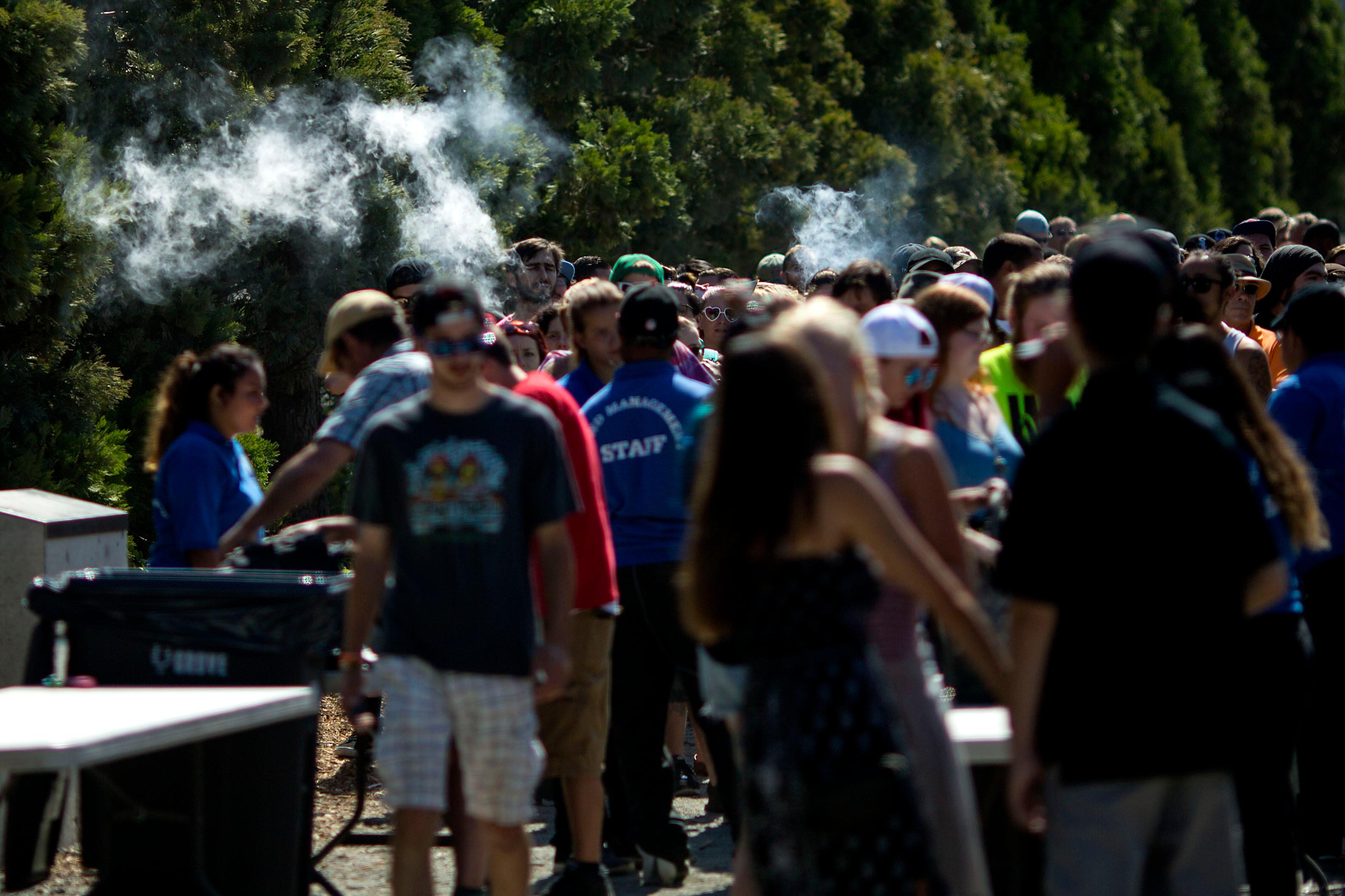Tens of thousands of people will come out to the Seattle waterfront for the 26th Annual Hempfest this weekend. Hempfest is the largest 'protestival' in the country, with hundreds of speakers, bands and vendors. (Image: Sy Bean / Seattle Refined)