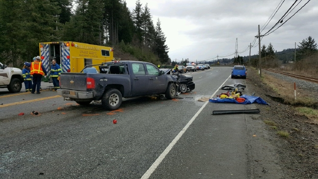 Coos DA: Speed racing suspected in deadly head-on crash on Hwy 101