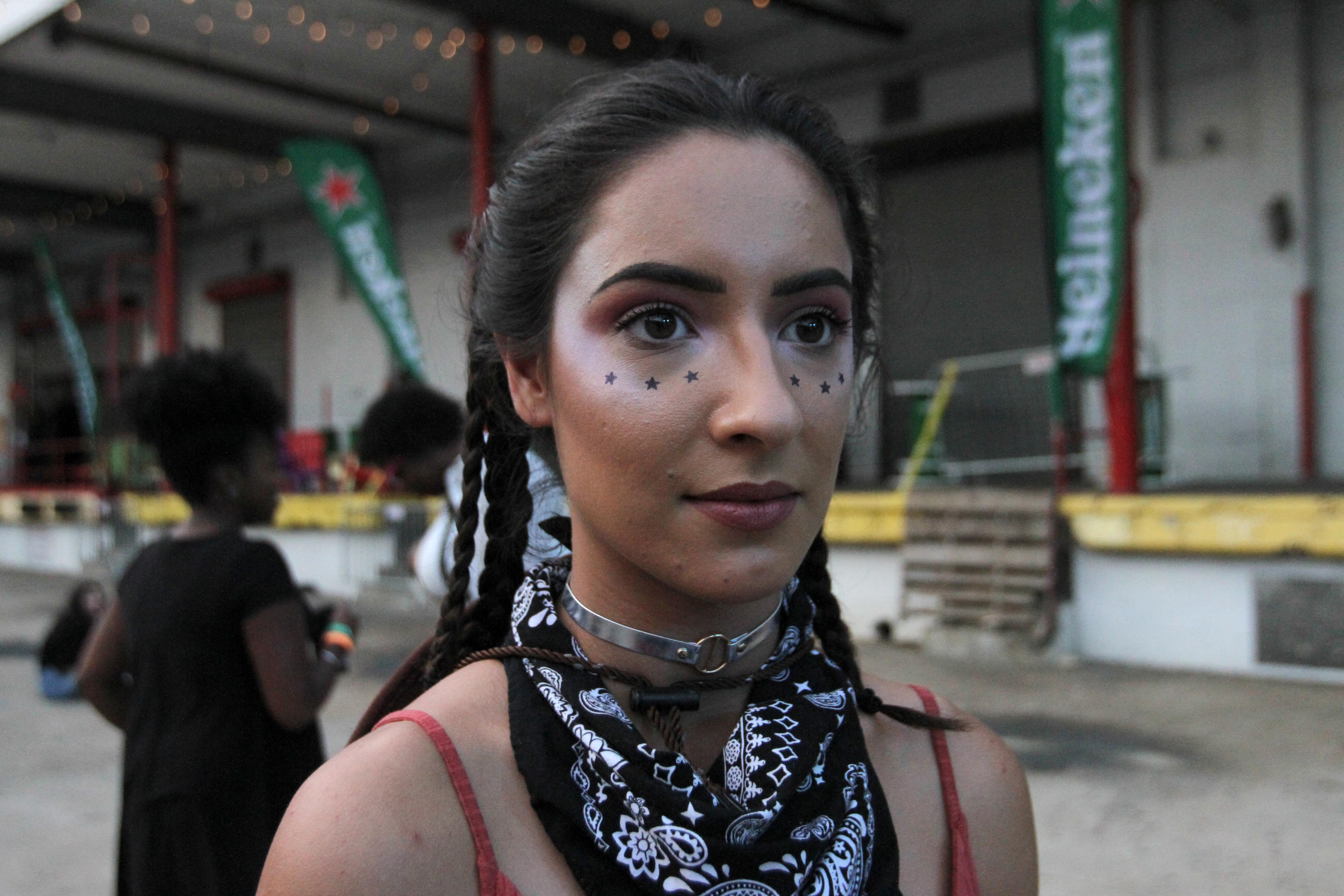 Stars adorned the cheeks of many festival-goers.{&amp;nbsp;}(Amanda Andrade-Rhoades/DC Refined)<p></p>