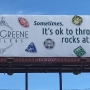 "Asheville's controversial ""throw rocks at girls"" billboard makes national news"