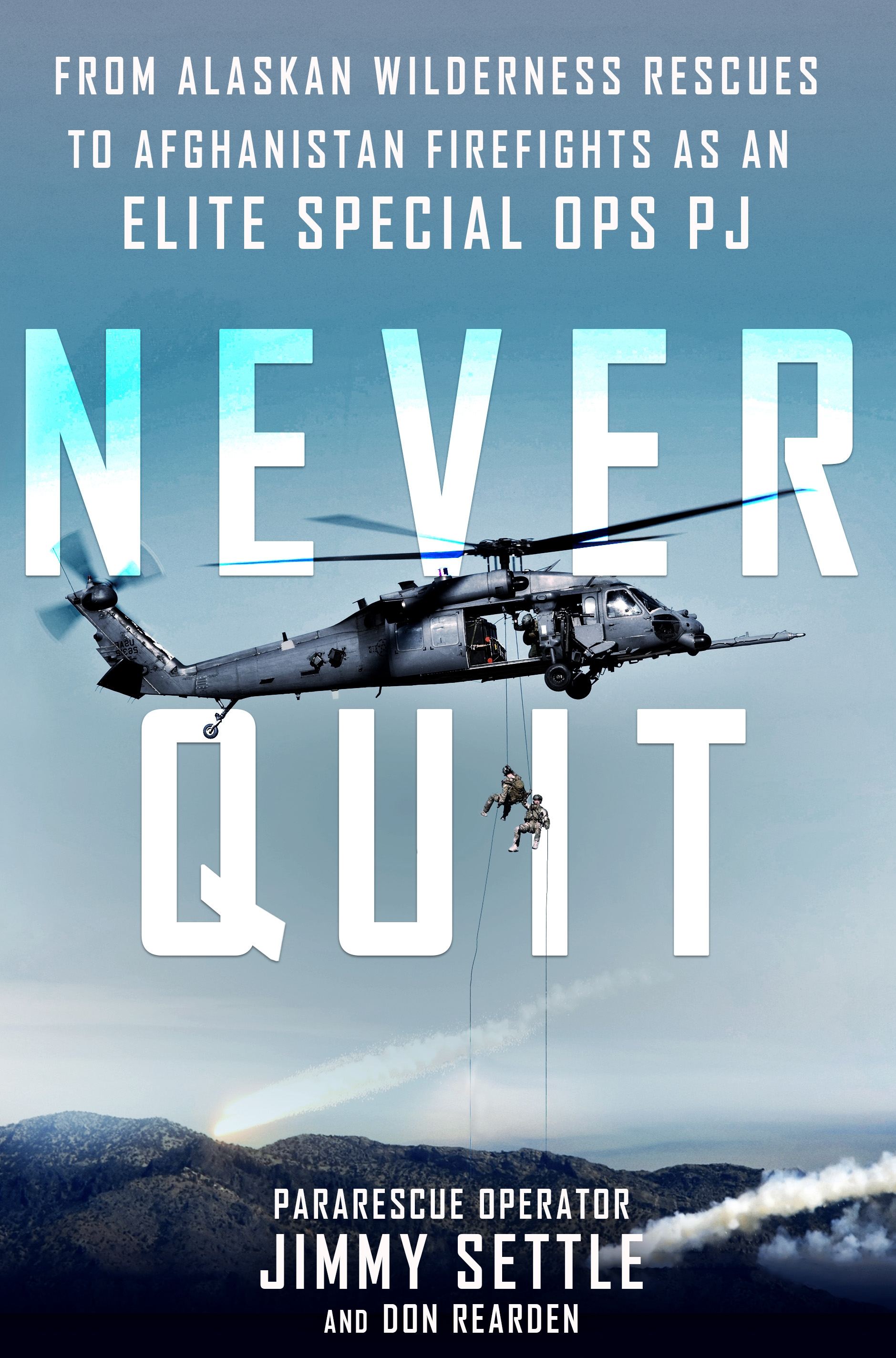 Never Quit Book Jacket