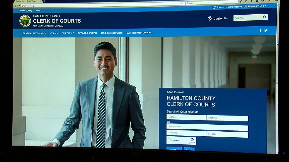 Hamilton County Clerk of Courts website gets a facelift   WKRC