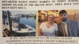 Reward offered for two missing boaters