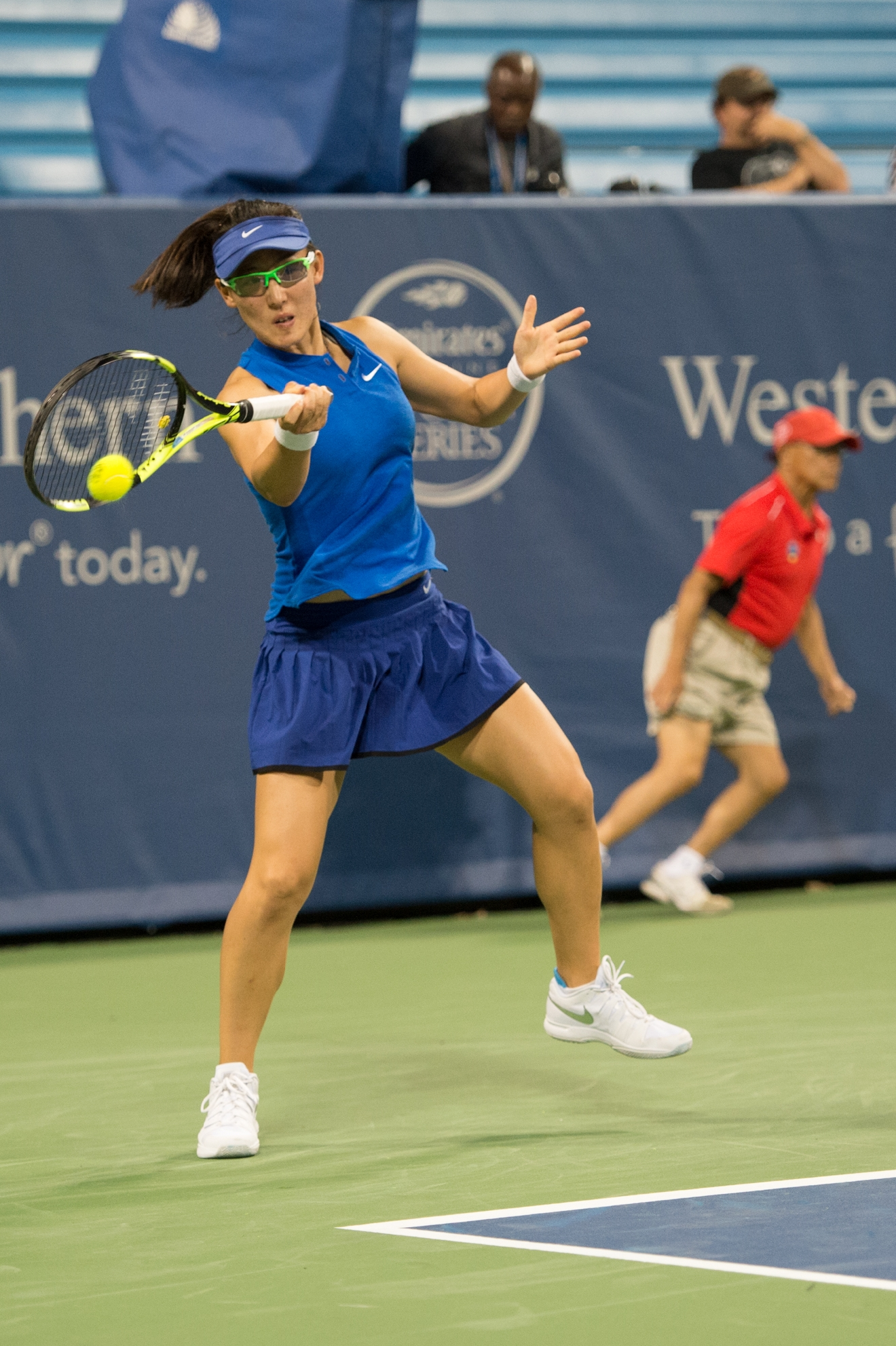 The Western & Southern Open (August 13-21) features the top men's and women's players on the ATP & WTA tours. It's played at the Lindner Family Tennis Center in Mason, OH. / Image: Chris Jenco