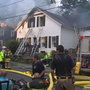 Lightning strikes cause 2 house fires during storm
