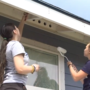 Students from Pennsylvania help build local homes