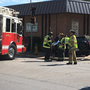 Emergency crews assisting in Quincy crash