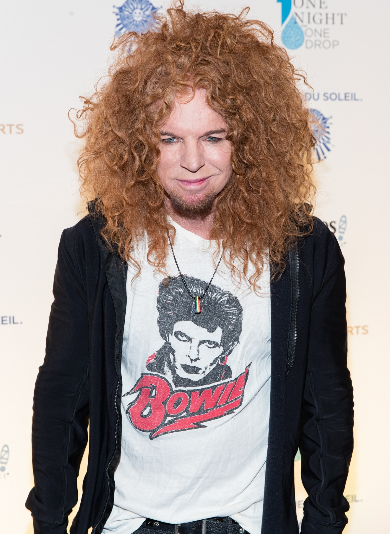 Carrot Top at One Night for One Drop 2017. (Photo courtesy of Erik Kabik/ErikKabik.com)
