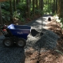 Volunteers rebuild Mount Pisgah trail