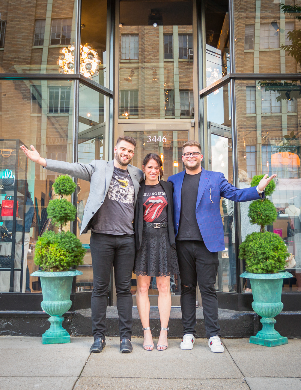 Jimmy, Amy, and Jacob Stafford (co-owners). The shop is named for Jimmy and Jacob. / Image: Ross Van Pelt of RVP Photography // Published: 6.19.19