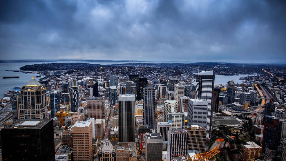 Guess what? Seattle's breaking another rainfall record