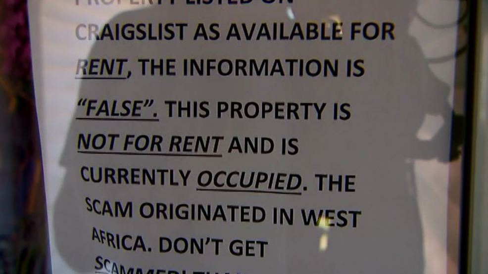 Scammer puts Indiana family's home up for rent on Craigslist