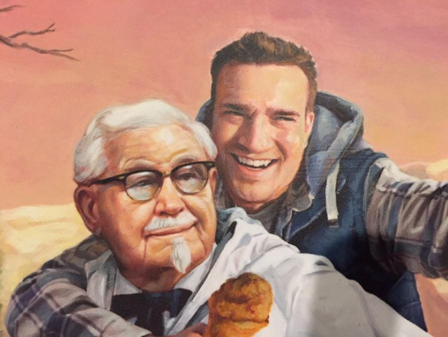 KFC rewards man who noticed they only follow '11 herbs and spices' on Twitter. (Photo: @edgette22)