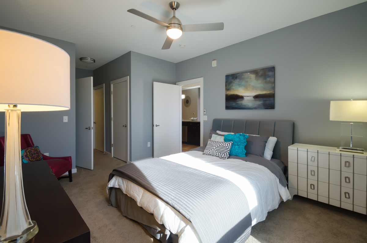 There are various floor plans of one and two-bedroom apartments. / Image: Sherry Lachelle Photography // Published: 10.30.18