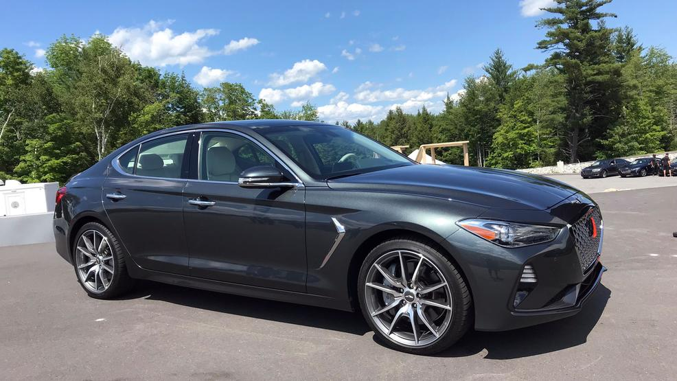 2019 Genesis G70 Newest Car In Genesis Lineup Rounds Out Sedan Trio