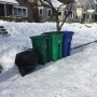 Trash pickup, mail delivery hampered by icy streets
