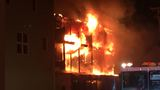 Fire rips through laundromat, apartments in Hampton Beach