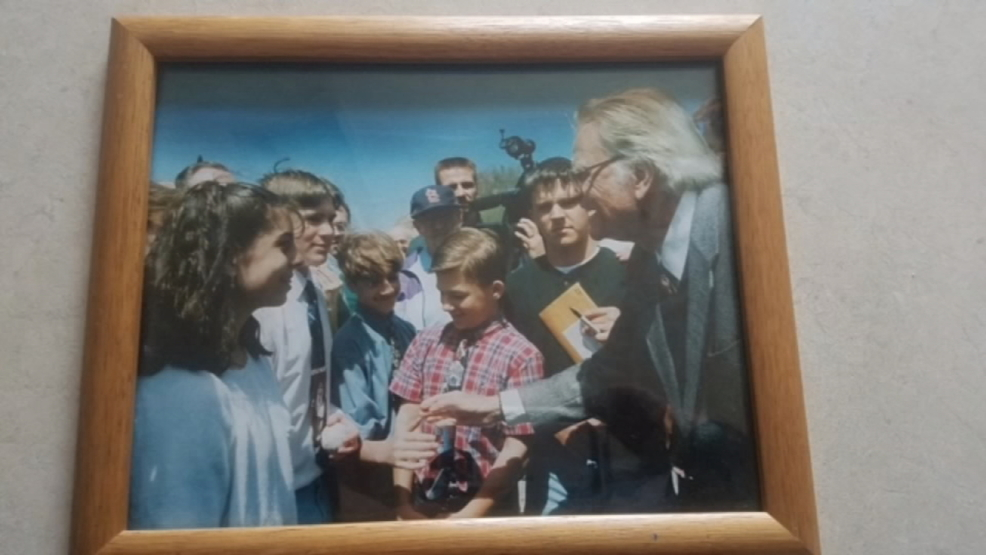 Asheville man treasures photo of him as a boy meeting the Rev. Graham
