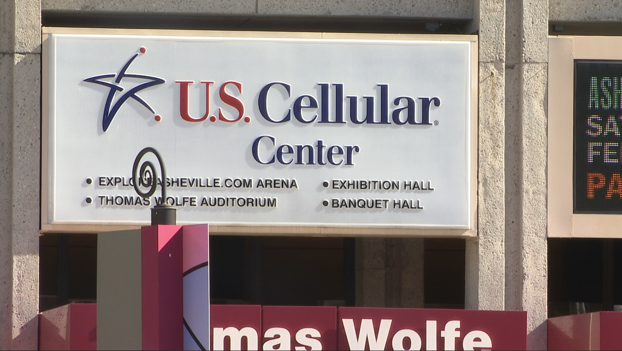 Asheville is taking bids for the naming rights of the venue formerly known as the Civic Center. (Photo credit: WLOS staff){ }