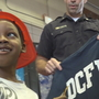 Boy reunited with DC firefighters who saved his life after cardiac arrest
