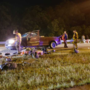 Woman hurt after rollover crash on Tisdale Parkway