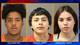 3 teens arrested after robbing cab driver, police say