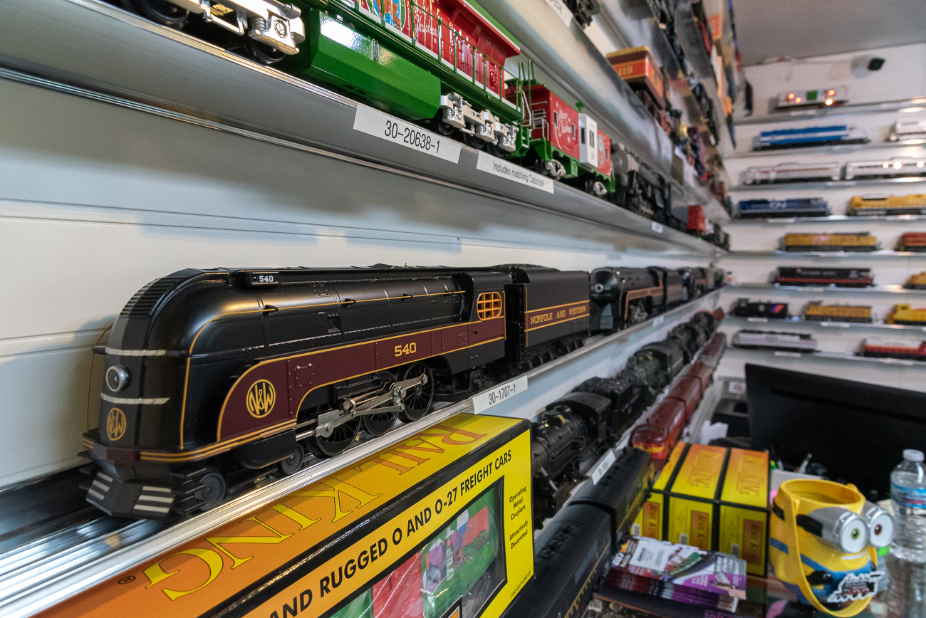 The store is one of the last of a dying breed. It's special because the staff who work there have years of experience fixing, learning about, and toying with model trains. With the advent of online shopping, model train stores have found it difficult to survive in brick and mortar settings, though Dixie Union Station has continued to thrive thanks to a passionate local customer base. / Image: Phil Armstrong, Cincinnati Refined // Published: 2.27.20