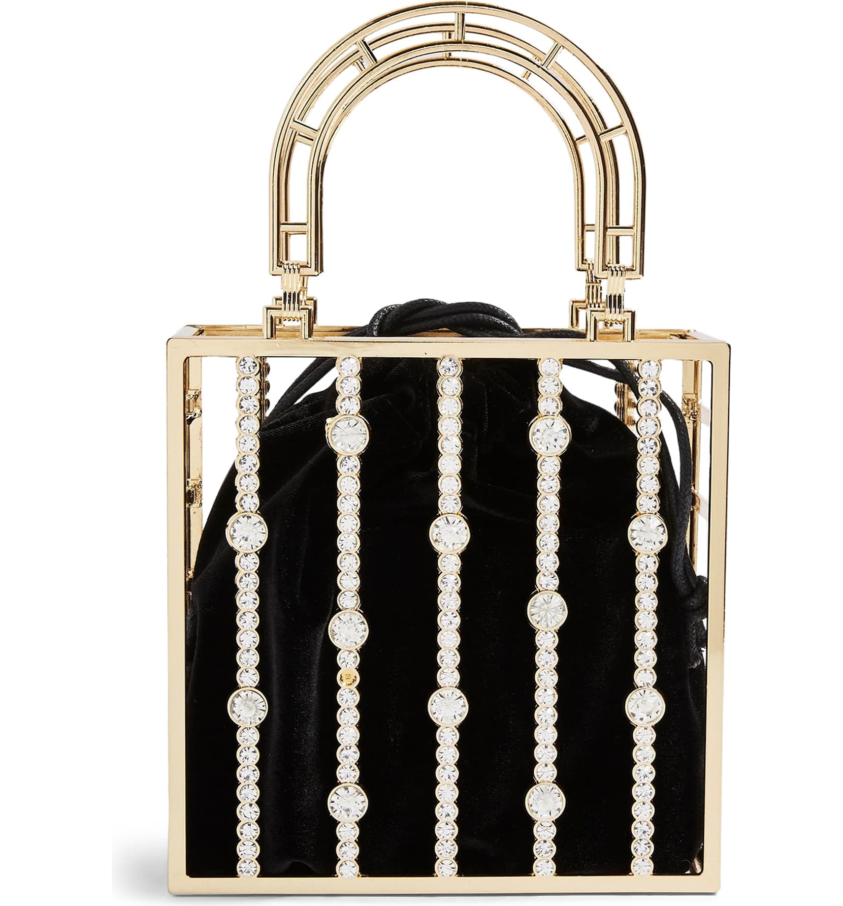"<p>Bars of crystals cage a lustrous velvet pouch, giving maximum sparkle and shine to this modern metal evening bag. <a  href=""https://shop.nordstrom.com/s/topshop-stella-crystal-cage-bag/5534023/full?origin=category-personalizedsort&breadcrumb=Home%2FWomen%2FTopshop%20%26%20Trend&color=gold"" target=""_blank"" title=""https://shop.nordstrom.com/s/topshop-stella-crystal-cage-bag/5534023/full?origin=category-personalizedsort&breadcrumb=Home%2FWomen%2FTopshop%20%26%20Trend&color=gold"">Shop it</a>{&nbsp;}- $68 (Image: Nordstrom){&nbsp;}</p>"