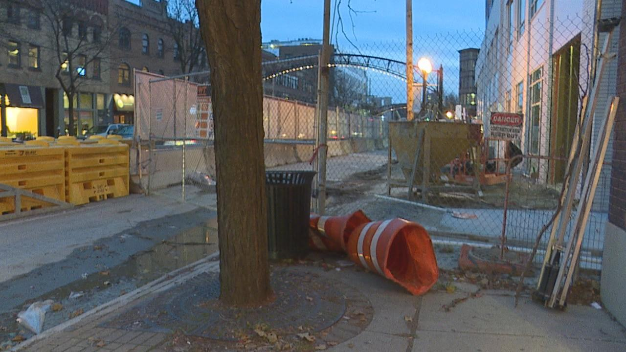 There are apartments and other high rises going up all over the place in the Short North. A lot of the work is blocking parking spaces and making it hard to get to some existing businesses. (WSYX/WTTE)