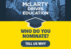 McLarty Drives Education Scholarship