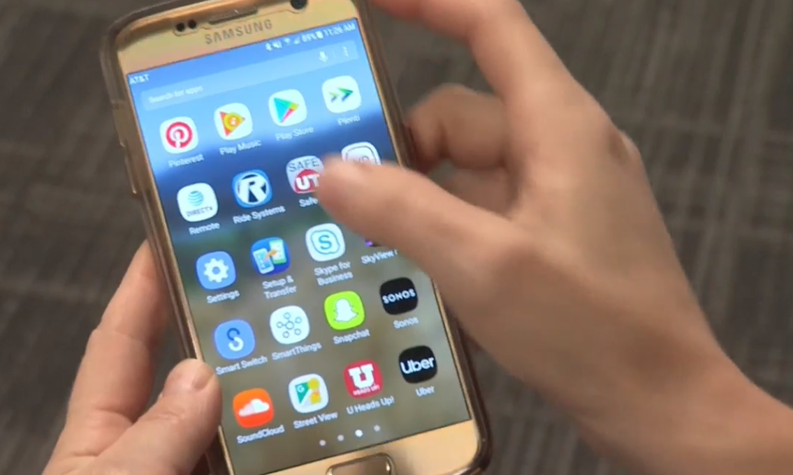 The SafeUT app, established in 2015, has seen record usage this year. (Photo: KUTV)