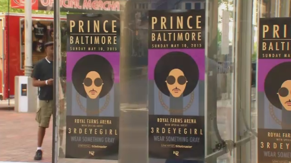 Remembering Prince: The song he penned for Baltimore
