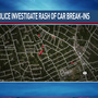MPD investigates string of car break-ins