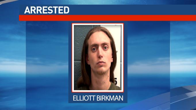 Elliott Birkman was arrested as part of a Las Cruces drug trafficking investigation.